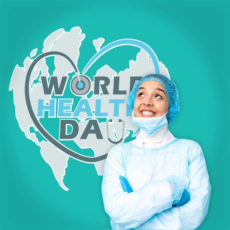 Αυτοκόλλητο Τοίχου - World Health Day