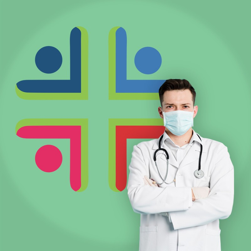 Αυτοκόλλητο Τοίχου - Health Aid