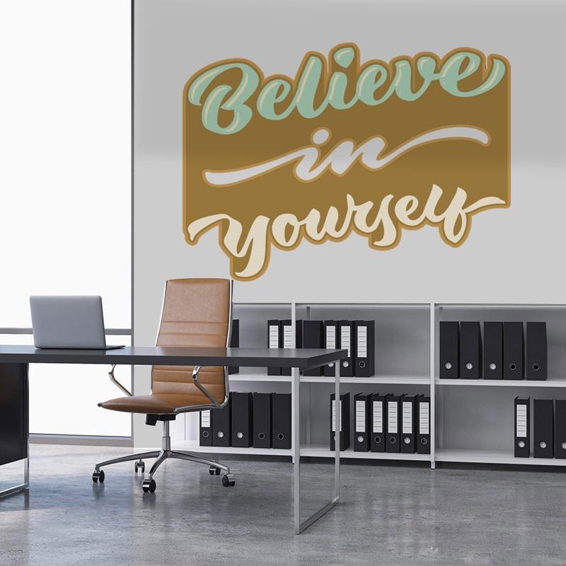 Αυτοκόλλητο Τοίχου - Belive in Yourself