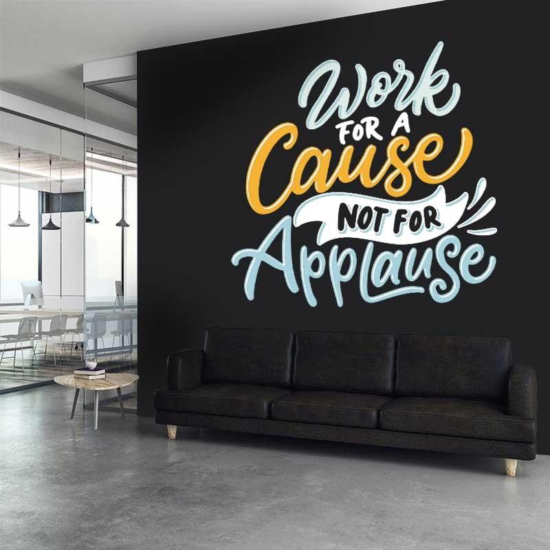 Αυτοκόλλητο Τοίχου - Work For A Cause