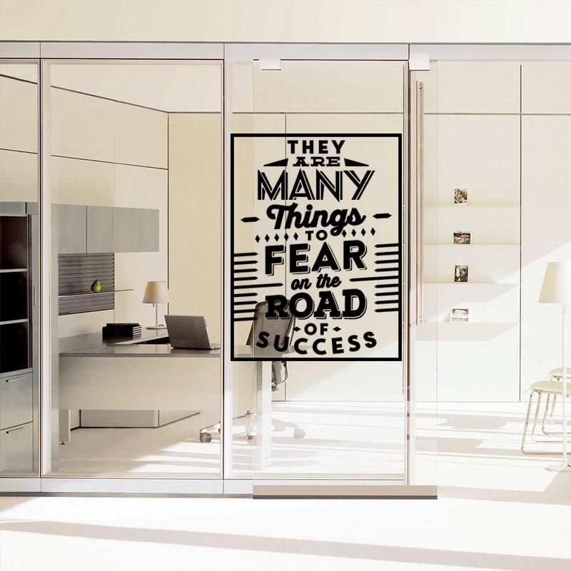 Αυτοκόλλητο Τοίχου - Road Of Success