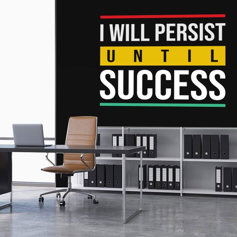 Αυτοκόλλητο Τοίχου - Success