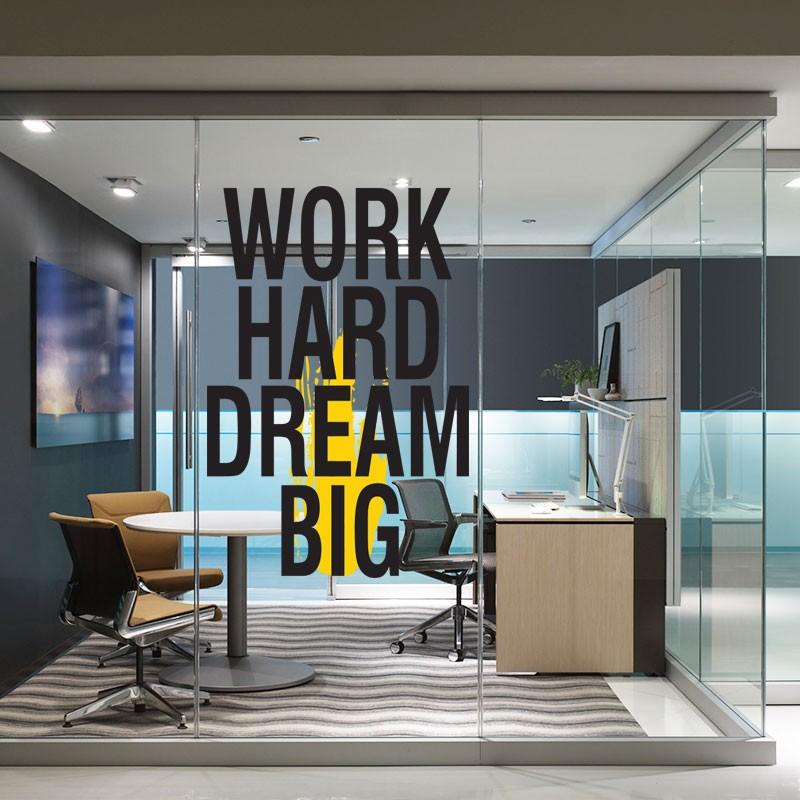 Αυτοκόλλητο Τοίχου - Dream Big