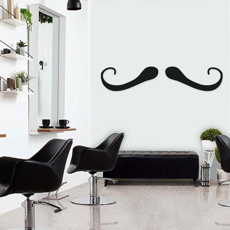 Αυτοκόλλητο Τοίχου - Under My Moustache
