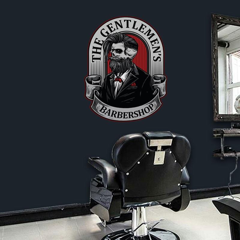 Αυτοκόλλητο Τοίχου - The Gentlemen's Barbershop