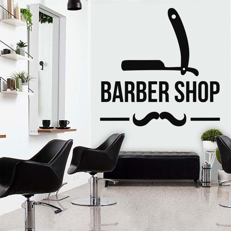 Αυτοκόλλητο Τοίχου - Barber