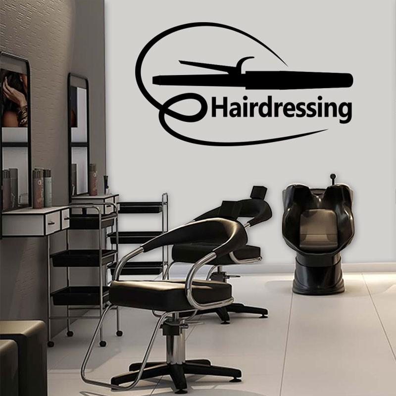 Αυτοκόλλητο Τοίχου -Hairdressing