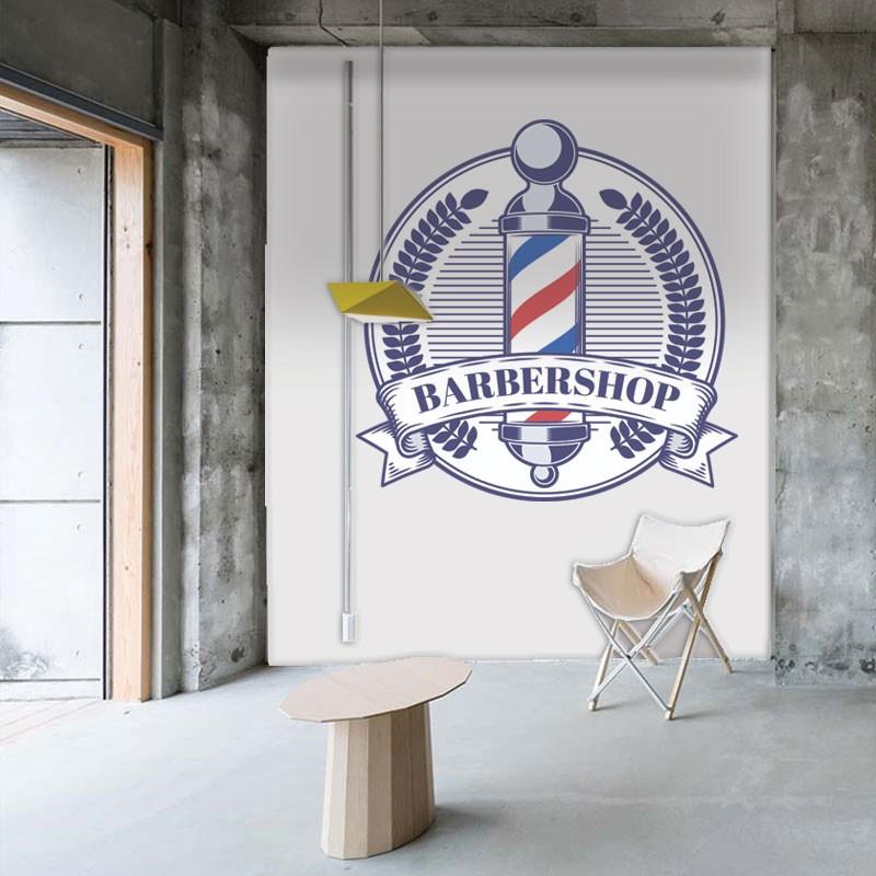 Αυτοκόλλητο Τοίχου - Unisex Hair Salon