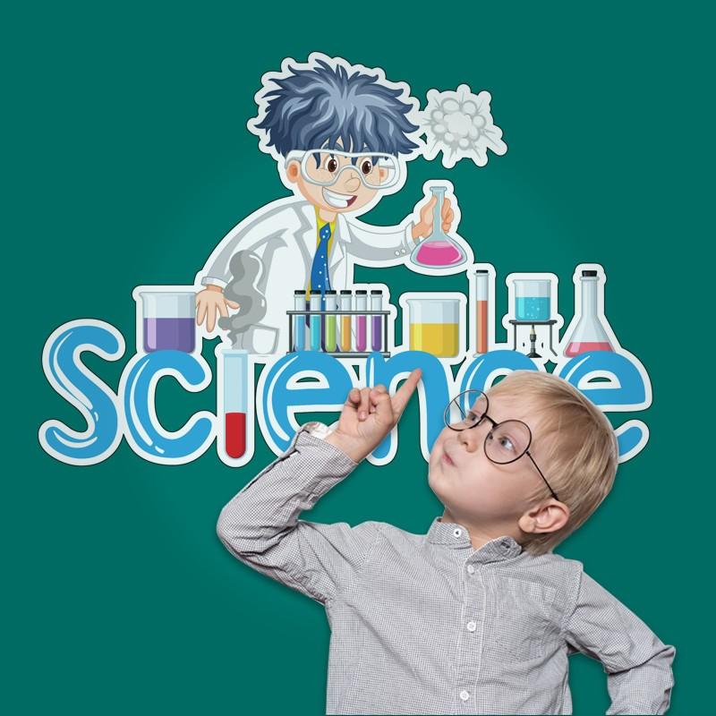 Αυτοκόλλητο Τοίχου - Science