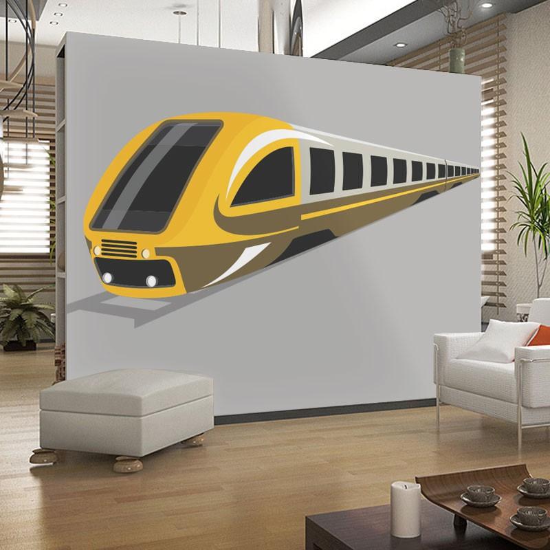 Αυτοκόλλητο Τοίχου - Travel Train