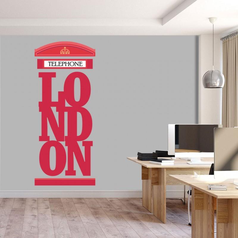 Αυτοκόλλητο Τοίχου - London