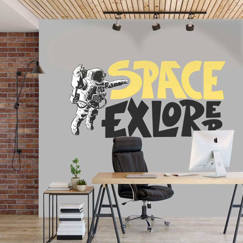 Αυτοκόλλητο Τοίχου - Space Explore