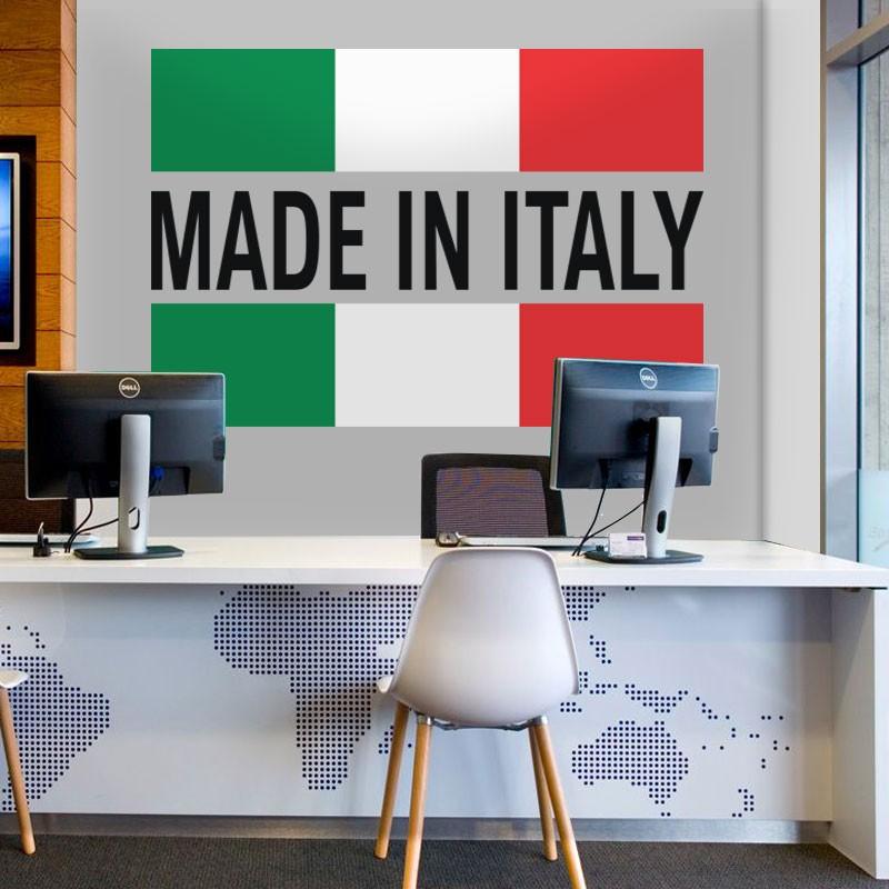 Αυτοκόλλητο Τοίχου - Made In Italy